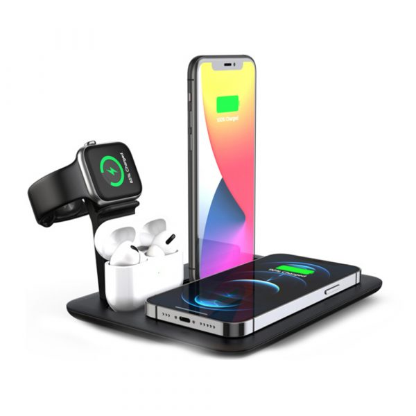 Multi-Function QI Enabled Wireless 3-in-1 Fast Charging Station_1