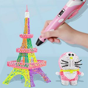 High Temperature 3D Filament Printing Pen DIY Arts and Crafts for Kids