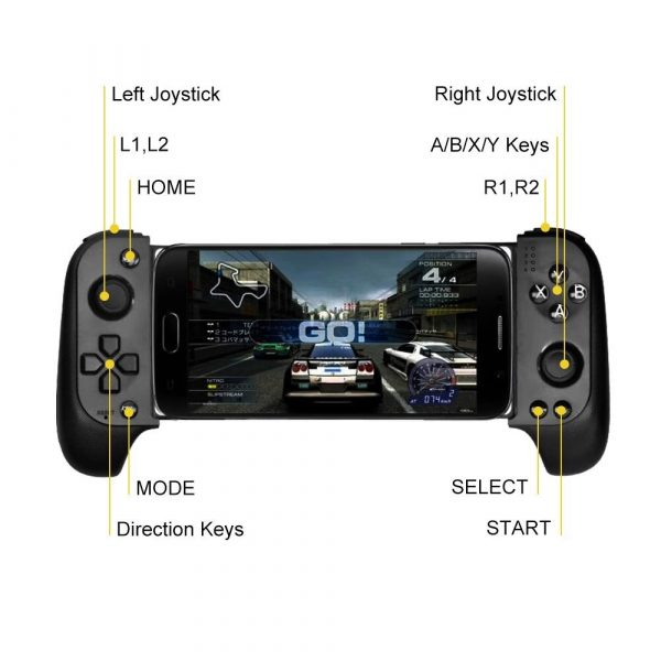 Rechargeable Wireless Bluetooth Gaming Pad Direct Play Joystick_6