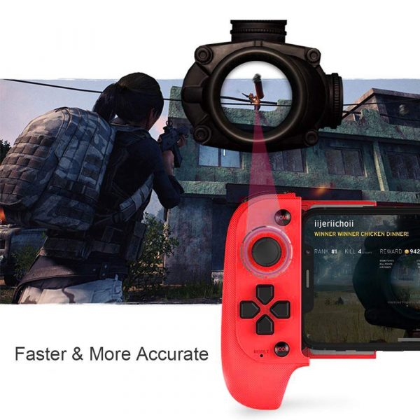 Rechargeable Wireless Bluetooth Gaming Pad Direct Play Joystick_7