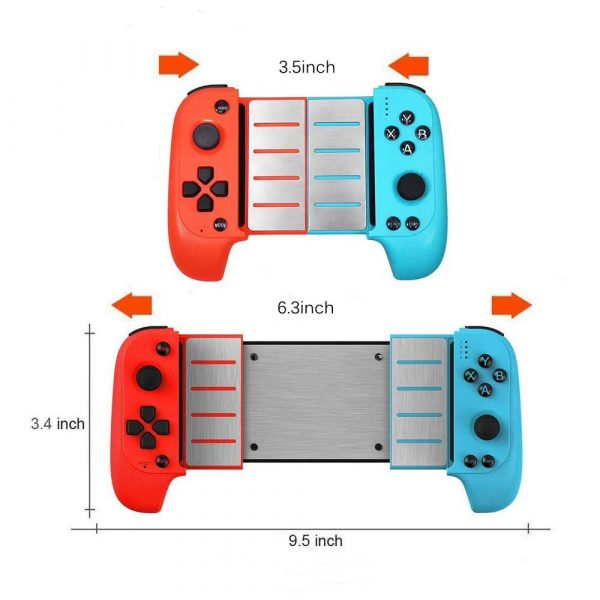 Rechargeable Wireless Bluetooth Gaming Pad Direct Play Joystick_9