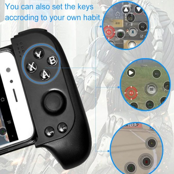 Rechargeable Wireless Bluetooth Gaming Pad Direct Play Joystick_12