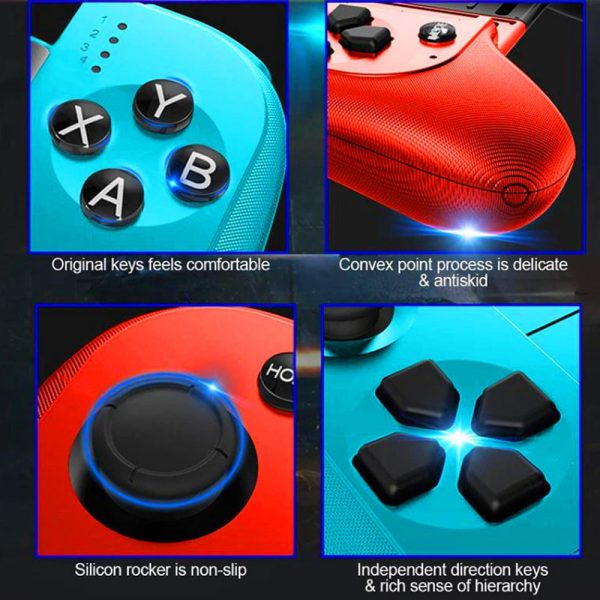 Rechargeable Wireless Bluetooth Gaming Pad Direct Play Joystick_14