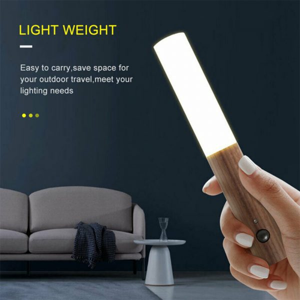 Rechargeable Motion Sensor LED Night Light for Wall Stairs Cabinet Hallway_10