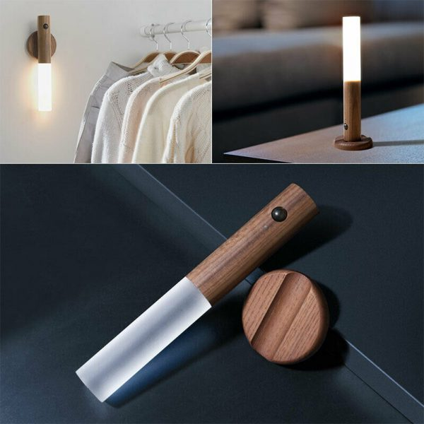 Rechargeable Motion Sensor LED Night Light for Wall Stairs Cabinet Hallway_13