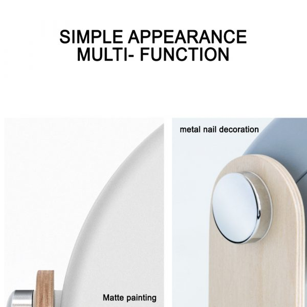 USB Rechargeable LED Retractable Folding Lamp Portable Wooden Night Light_12