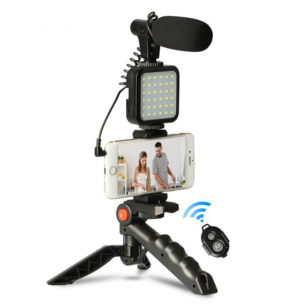 Mobile Phone Photography Video Shooting Kit with for Phones and Camera_1