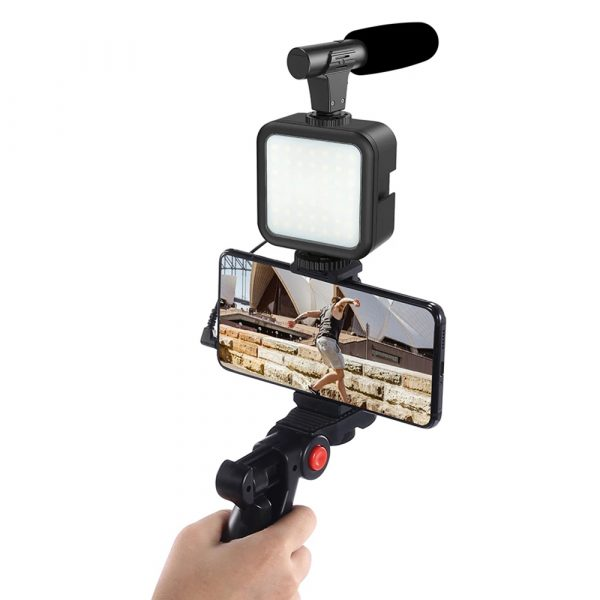 Mobile Phone Photography Video Shooting Kit with for Phones and Camera_3
