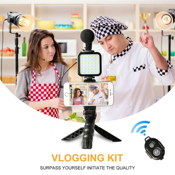Mobile Phone Photography Video Shooting Kit with for Phones and Camera_4
