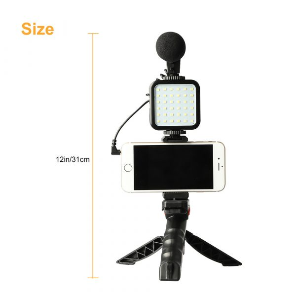 Mobile Phone Photography Video Shooting Kit with for Phones and Camera_10