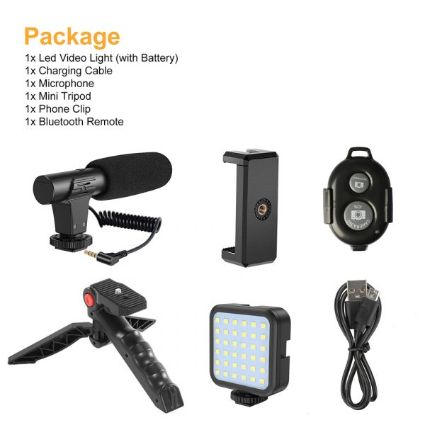 Mobile Phone Photography Video Shooting Kit with for Phones and Camera_11
