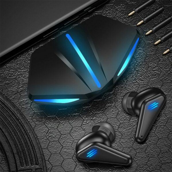 K55 TWS Wireless Gaming Bluetooth Headset with Mic and Charging Case_3
