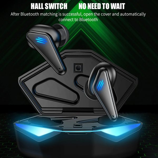K55 TWS Wireless Gaming Bluetooth Headset with Mic and Charging Case_18