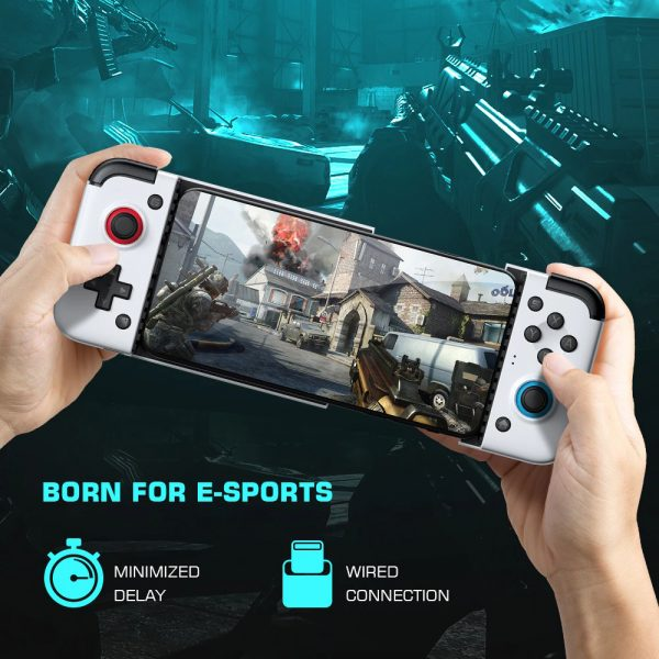 X2 New Version Type-C Mobile Game Controller Joystick Android Gamepad_4