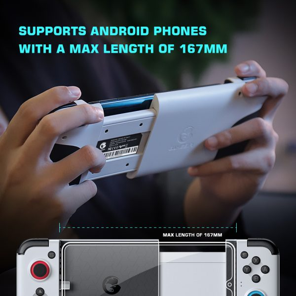 X2 New Version Type-C Mobile Game Controller Joystick Android Gamepad_7