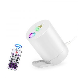 Night Light Starry Sky Lamp Projector Remote Control Musical Rotating Lamp
