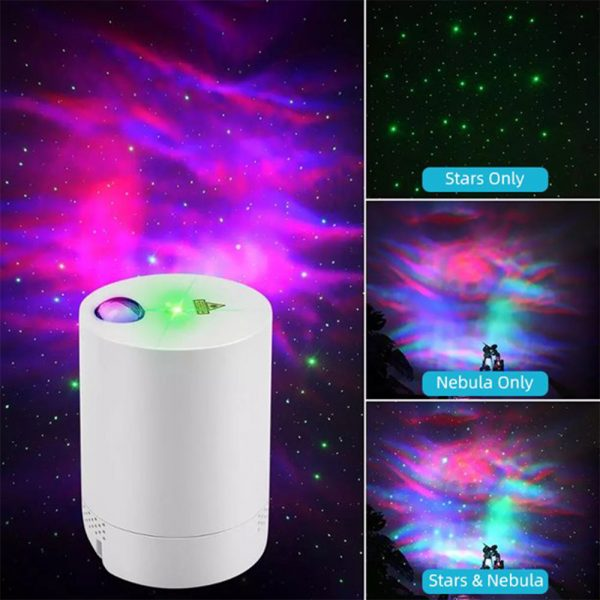 Night Light Starry Sky Lamp Projector Remote Control Musical Rotating Lamp_5
