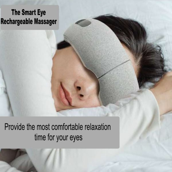 Rechargeable Heat Therapy Air Compression Eye Massager_5