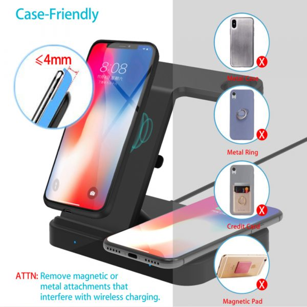 3-in-1 Qi Enabled Wireless Charging Station for Samsung and Apple Devices_14