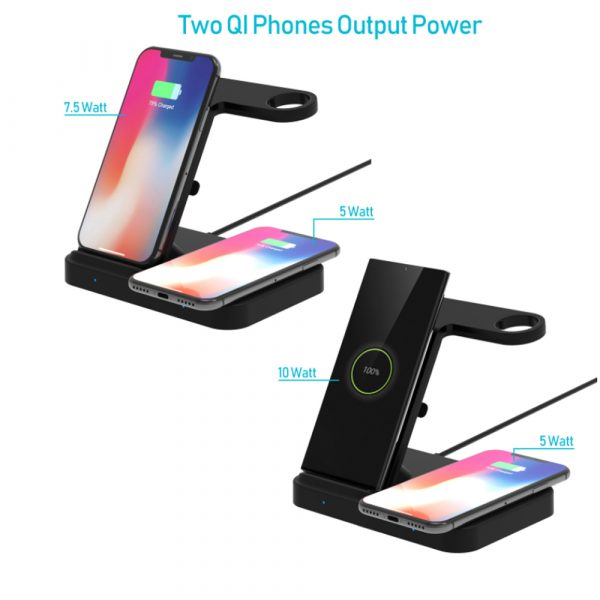 3-in-1 Qi Enabled Wireless Charging Station for Samsung and Apple Devices_7