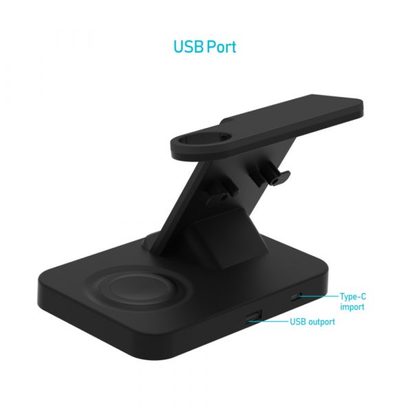 3-in-1 Qi Enabled Wireless Charging Station for Samsung and Apple Devices_8