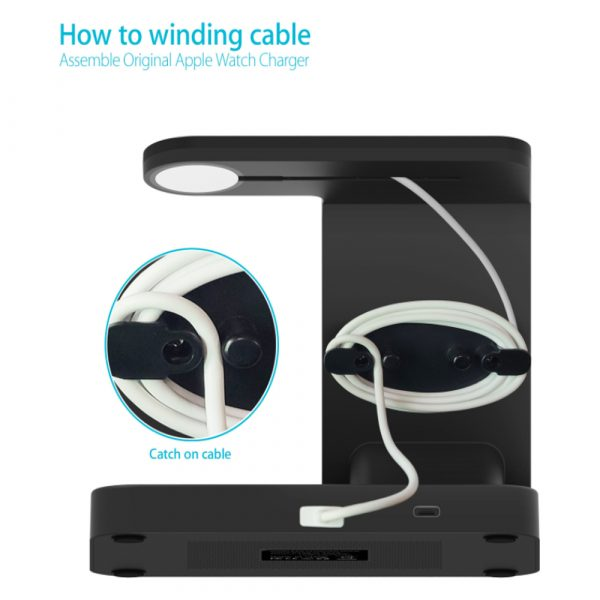 3-in-1 Qi Enabled Wireless Charging Station for Samsung and Apple Devices_10