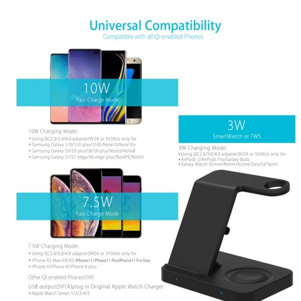 3-in-1 Qi Enabled Wireless Charging Station for Samsung and Apple Devices_11