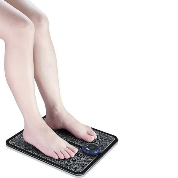 USB Rechargeable Foot Cushion and Massager with LCD Gear Display_1
