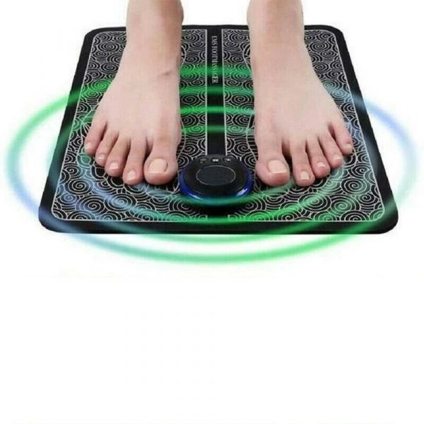 USB Rechargeable Foot Cushion and Massager with LCD Gear Display_2