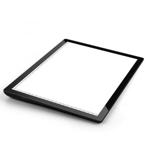 USB Rechargeable A4 Magnetic Pad Guide Light Tracing and Drawing Board