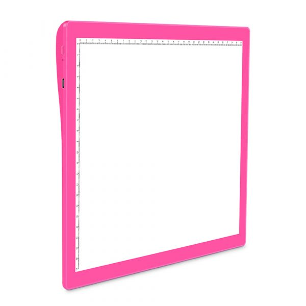 USB Rechargeable A4 Magnetic Pad Guide Light Tracing and Drawing Board_6