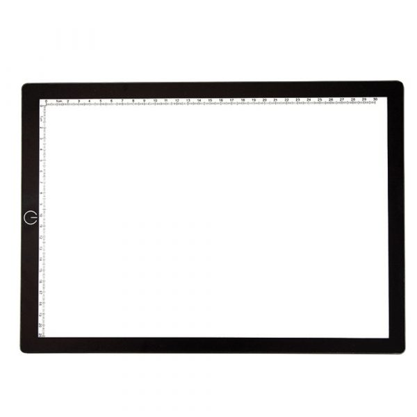 A4 Tracing Light Pad Magnetic Drawing Board Tracing Fill Light_0