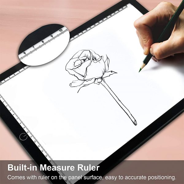 A4 Tracing Light Pad Magnetic Drawing Board Tracing Fill Light_10