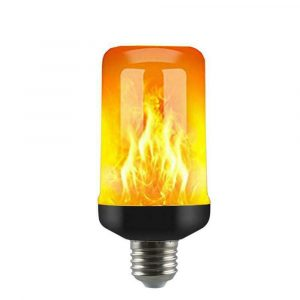 5W 4 Modes Burning Flickering Flame LED Light Bulb