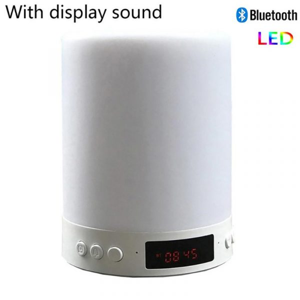 Bluetooth Speaker Touch Control LED Light_5