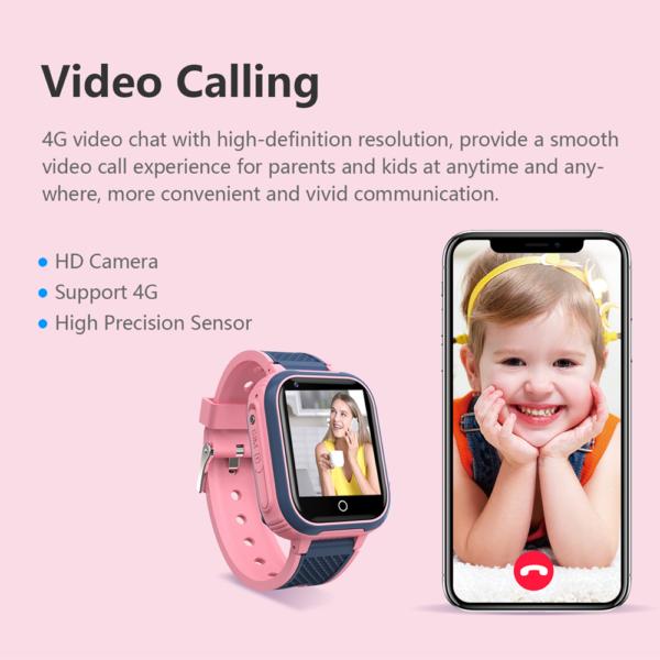 4G Video Call Watch GPS Wifi Tracker Smart Phone Watch_4