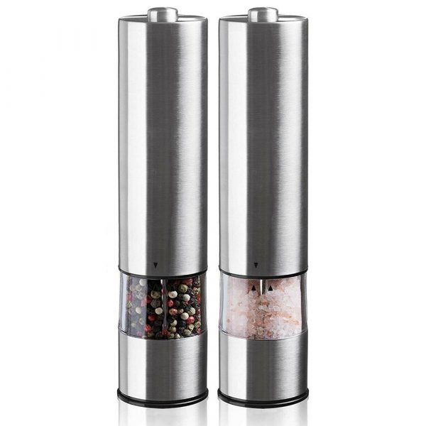 Electric Pepper Grinder Spice Mill and Automatic Grinder_0