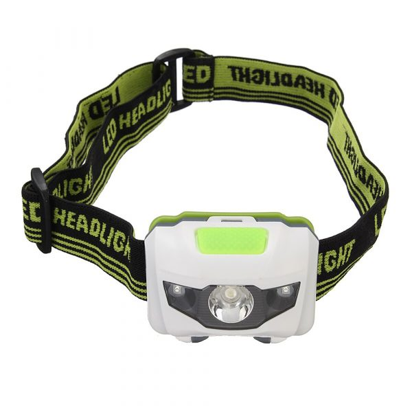 T16 Multi-functional 2+1 Headlight Protection Head-Mounted Flashlight Torch_0