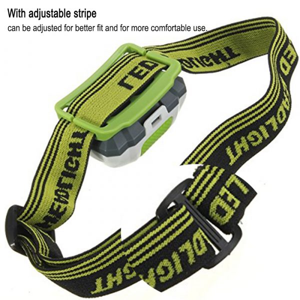 T16 Multi-functional 2+1 Headlight Protection Head-Mounted Flashlight Torch_7