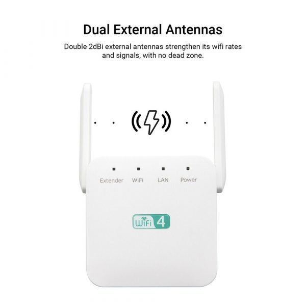 Wireless Wi-Fi Repeater Signal Amplifier Long Range Signal Booster Repeater_6