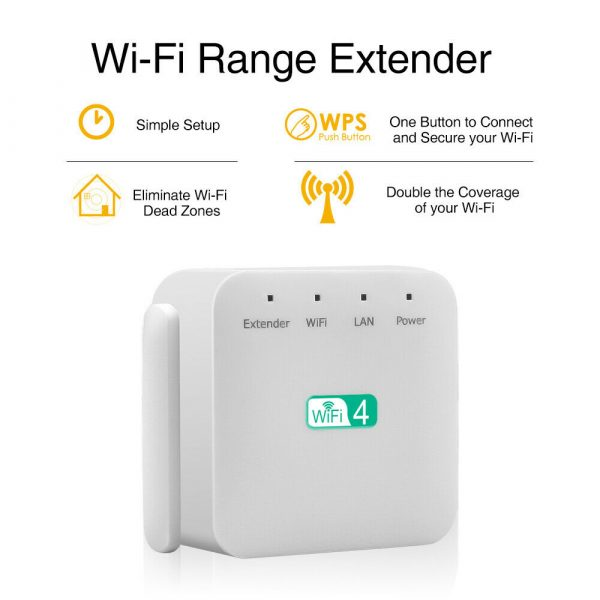 Wireless Wi-Fi Repeater Signal Amplifier Long Range Signal Booster Repeater_17