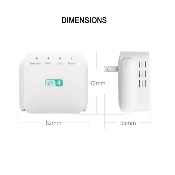 Wireless Wi-Fi Repeater Signal Amplifier Long Range Signal Booster Repeater_7