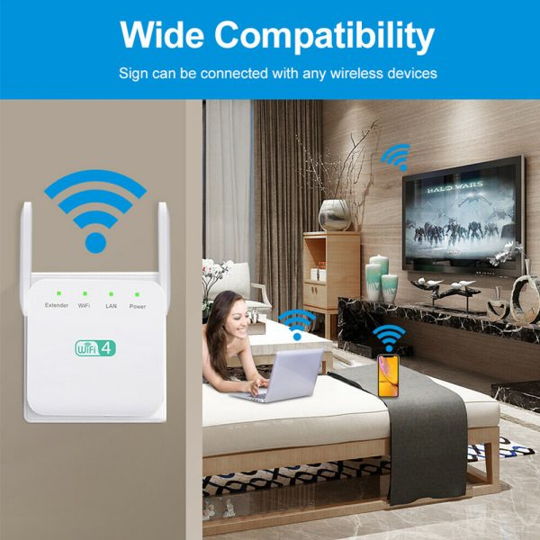 Wireless Wi-Fi Repeater Signal Amplifier Long Range Signal Booster Repeater_12