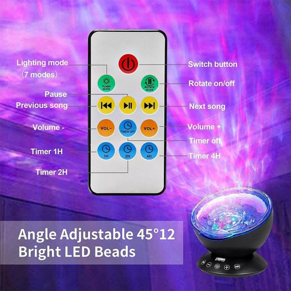 Upgraded Remote Controlled Ocean Light Projector_8