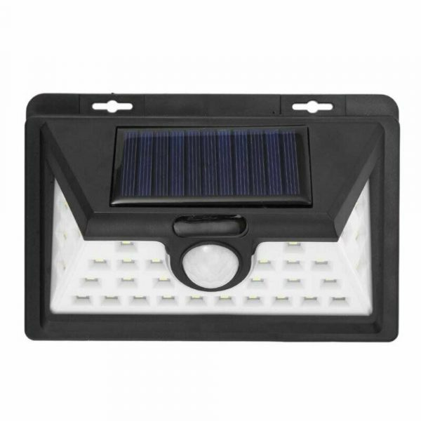 Solar Powered 32LED Body Induction Motion Sensor Outdoor Wall Light_0