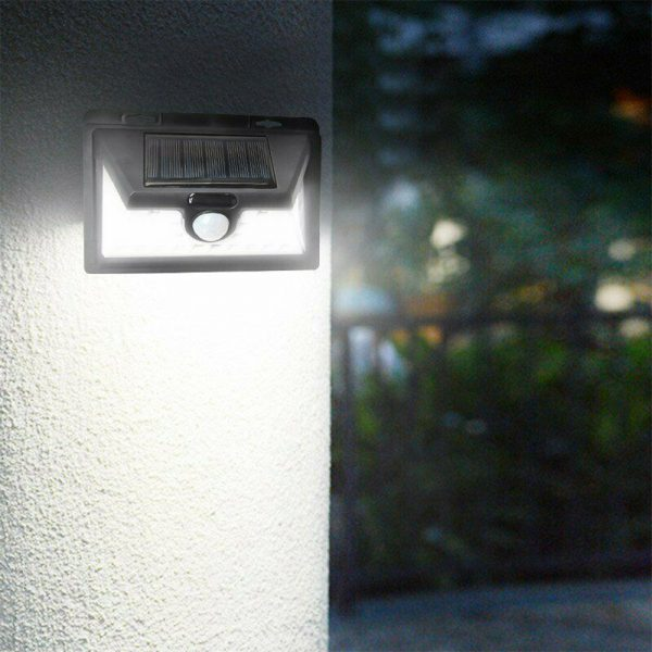 Solar Powered 32LED Body Induction Motion Sensor Outdoor Wall Light_1