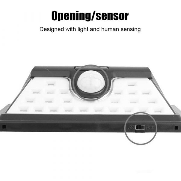 Solar Powered 32LED Body Induction Motion Sensor Outdoor Wall Light_13