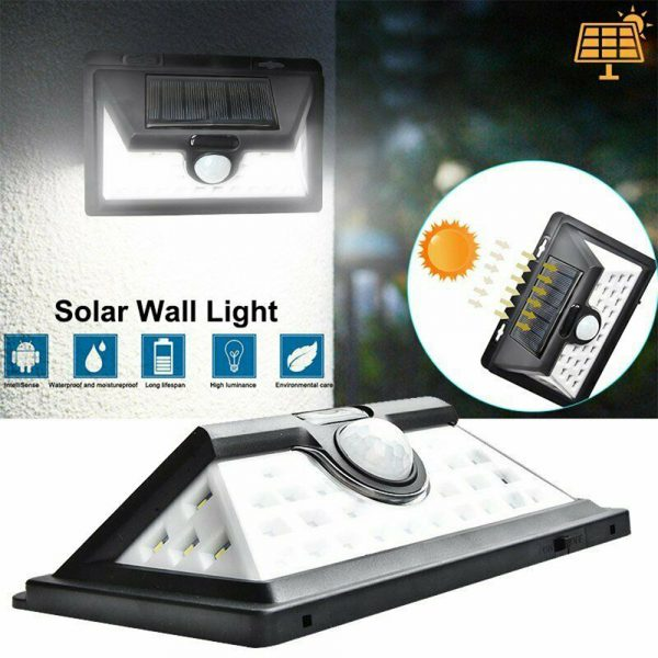 Solar Powered 32LED Body Induction Motion Sensor Outdoor Wall Light_5