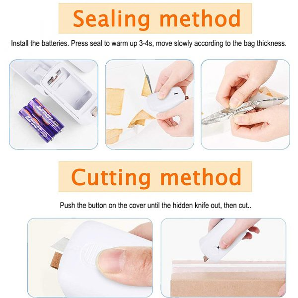 2-in-1 Battery Operated Portable Handheld Heat Sealer and Cutter_7