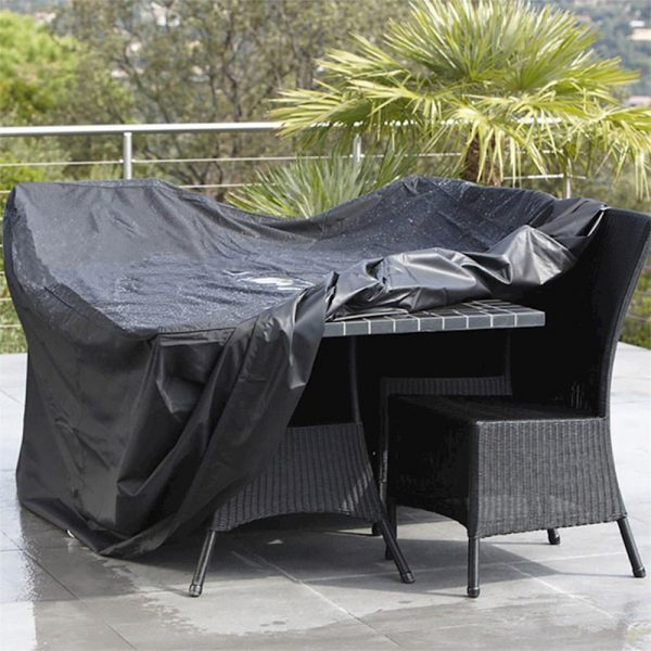 Waterproof Polyester Outdoor Furniture Protective Cover in 5 Sizes_0